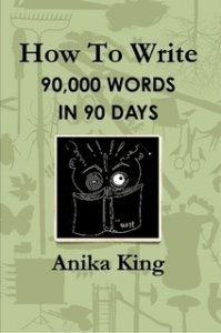 90,000 words in 90 days - lulu